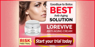 L'Orevive Anti Aging Skin Cream - Free Trial
