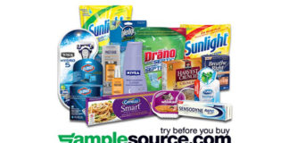 FREE Box of Samples from SampleSource