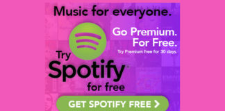Try Spotify Premium for FREE