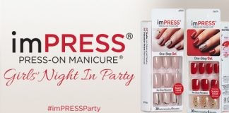 Free imPRESS Manicure Girls' Night in Party