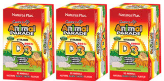 Free Sample Animal Parade Vitamin D3 Chewable