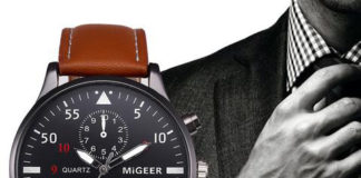 FREE Sports Watch with Leather Band Giveaway