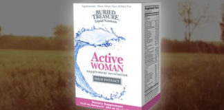 Free Sample Buried Treasure Nutripac Active Woman Supplement