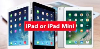 Request your iPad or iPad Mini now