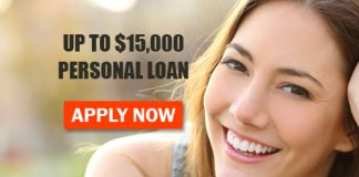 Apply For Personal Loan Up To $15,000