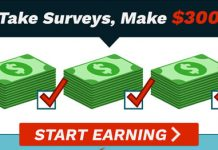 Make $300/Week Completing Surveys