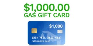 Chance to Win $1000 Gas Card