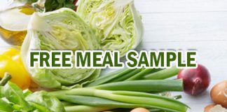 Free Meal Sample from Rainy Day