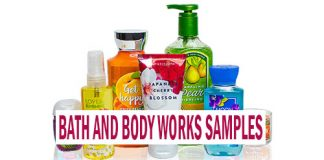 FREE Bath and Body Works Samples in the Mail