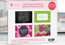 Free Scripture Promise Decals from Joyce Meyer