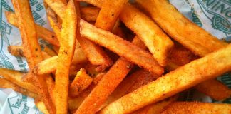 FREE French Fries from Wingstop