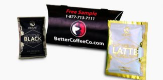 Free Coffee Sample from Better Coffee Company Gourmet