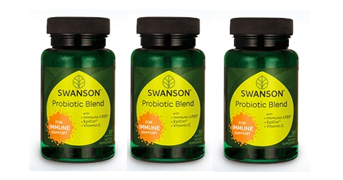 Free Full Size Swanson Probiotic Blend Supplement