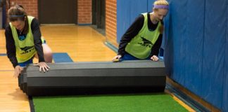 Free GymTurf 365 Roll-Out Turf Sample