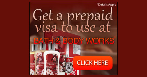 Enter for a Gift Card to Use at Bath and Body Works