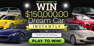 Enter to Win $150k Dream Car Instantly - No Purchase Necessary