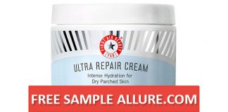 Free Sample First Aid Beauty Ultra Repair Cream Allure.Com