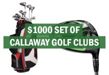 Win $1000 Set Of Callaway Golf Clubs!