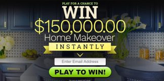 Enter to Win $150k Home Makeover Instantly - No Purchase Necessary