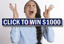 Enter to Win TGIF $1000 Sweepstakes Draw FREE